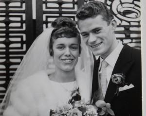 Arie en Nieke gelukkig huwelijk